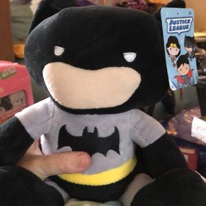 BATMAN PLUSH BANK. NEW W TAGS!